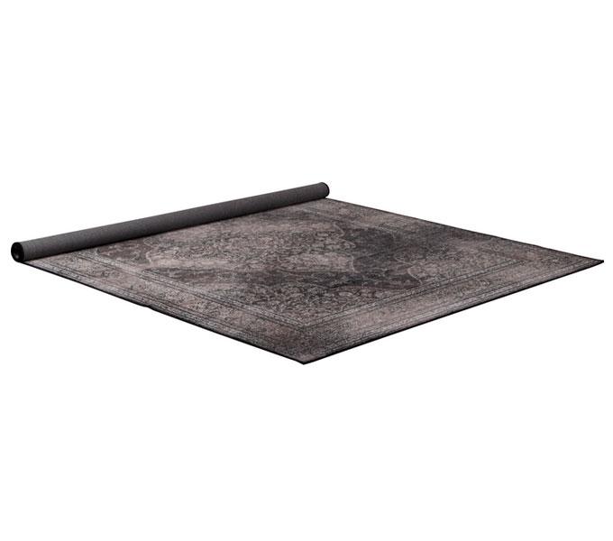 Dutchbone Rugged vloerkleed-Grijs-200x300 cm