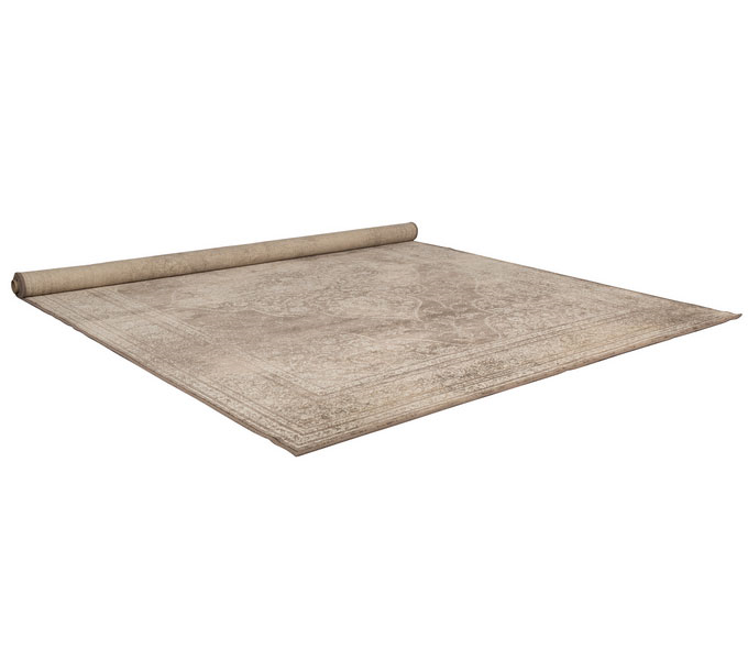Dutchbone Rugged vloerkleed-Crème-200x300 cm