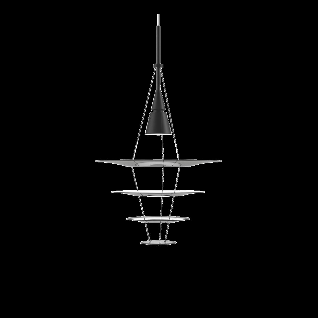 Louis Poulsen Enigma Ø 425 hanglamp Zwart