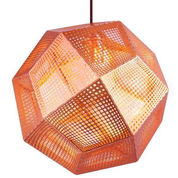 Tom Dixon Etch hanglamp-Koper
