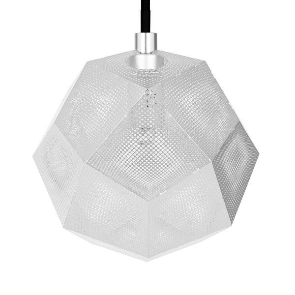 Tom Dixon Etch mini hanglamp-RVS