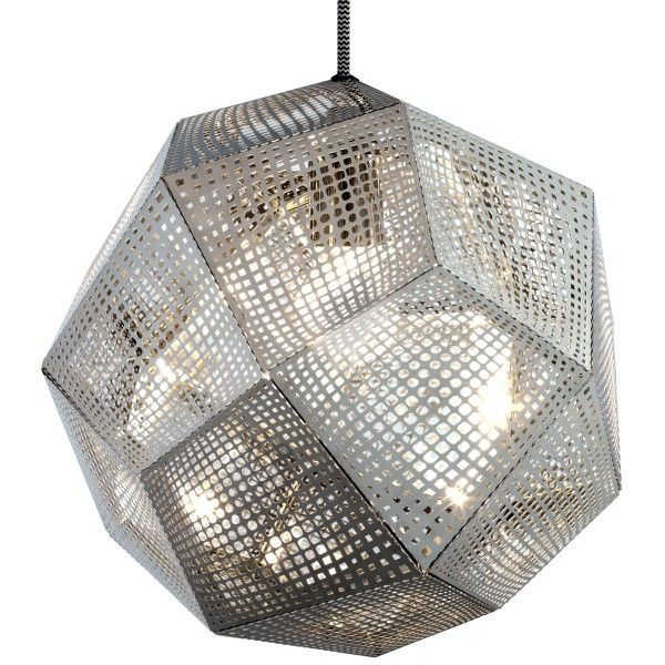 Tom Dixon Etch hanglamp-RVS