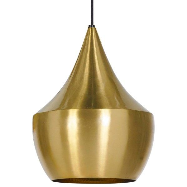 Tom Dixon Beat Light Fat hanglamp-Messing