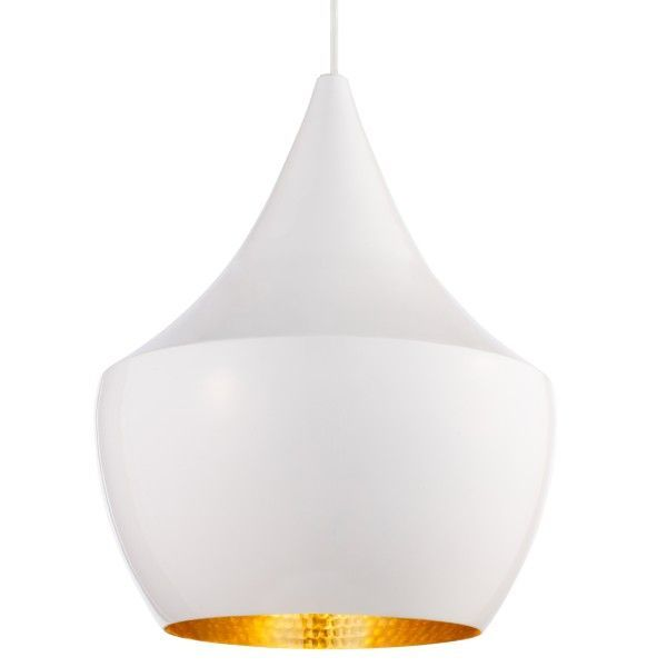 Tom Dixon Beat Light Fat hanglamp-Wit