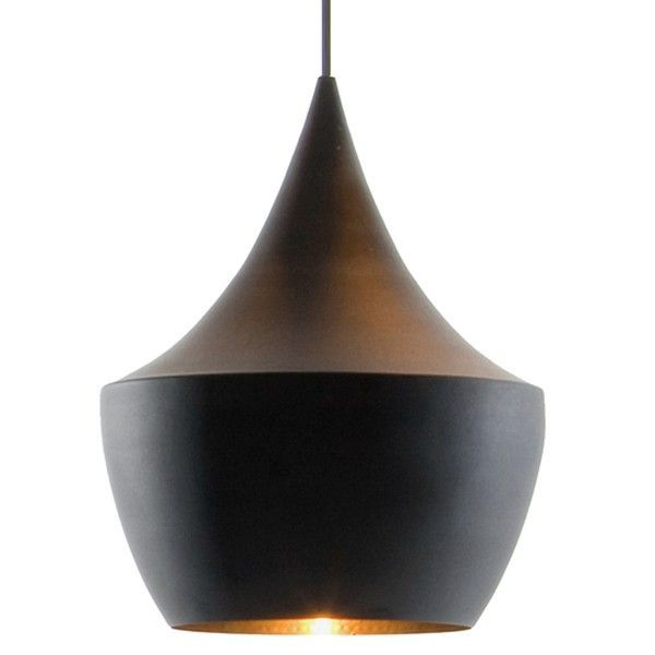 Tom Dixon Beat Light Fat hanglamp-Zwart