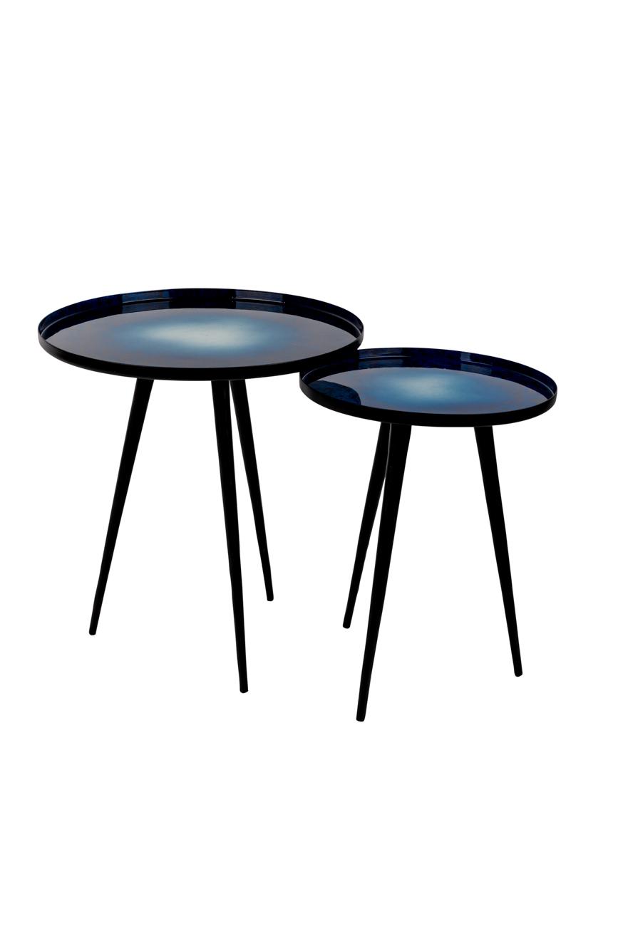 Zuiver Flow tafel-Blauw