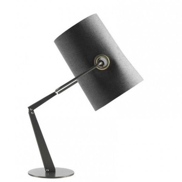 Diesel with Foscarini Fork tafellamp-Grijs-Frame zwart