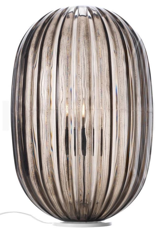 Foscarini Plass media LED tafellamp-Grijs