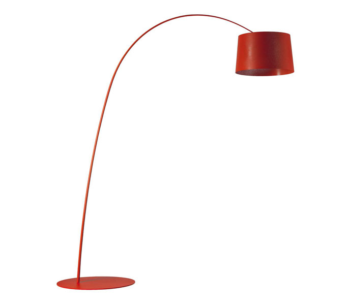 Foscarini Twiggy LED dimbaar booglamp-Rood
