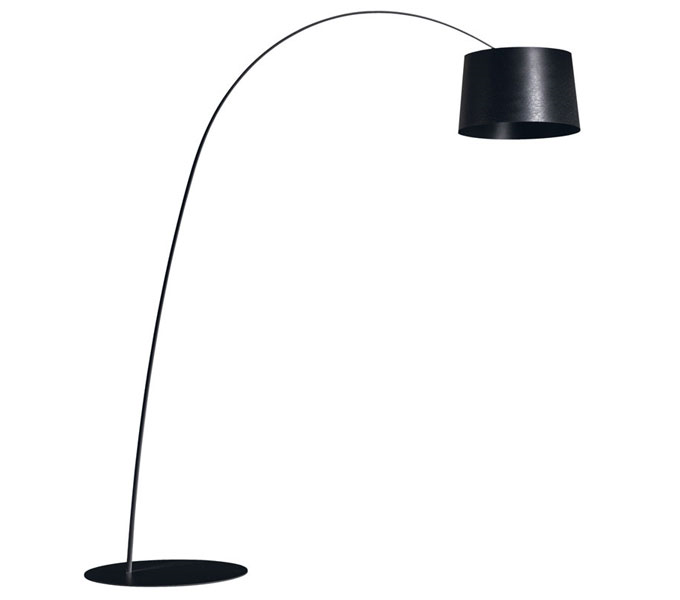Foscarini Twiggy LED dimbaar booglamp-Zwart
