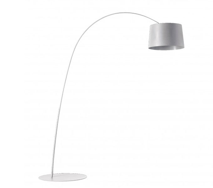 Foscarini Twiggy LED dimbaar booglamp-Wit