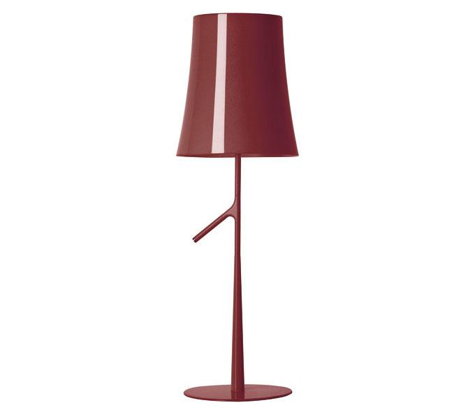 Foscarini Birdie tafellamp-Rood-Grande
