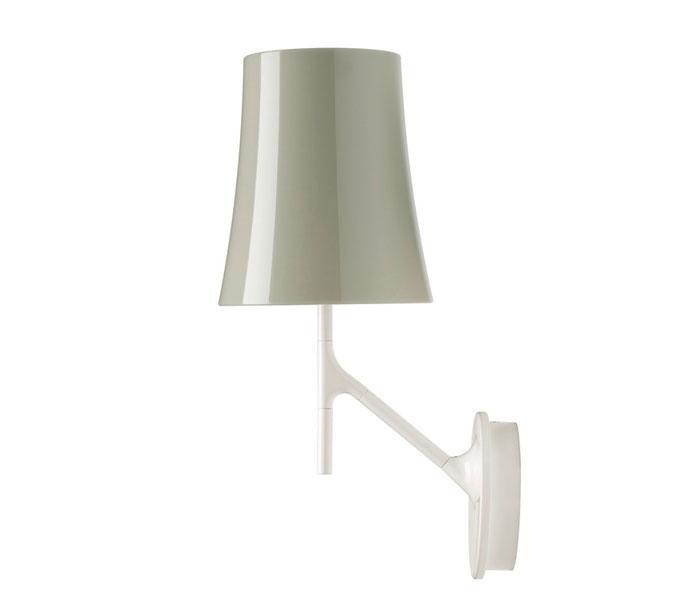 Foscarini Birdie wandlamp-Grijs