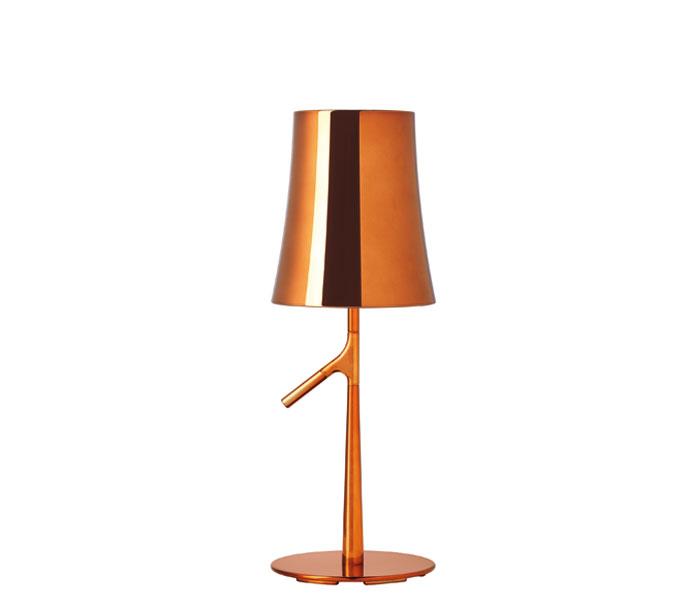 Foscarini Birdie metal tafellamp-Koper-Piccola