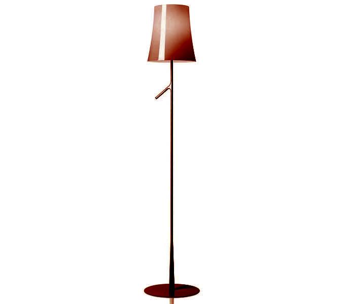 Foscarini Birdie met dimmer vloerlamp-Rood
