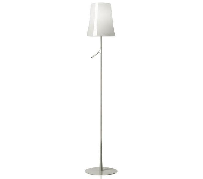 Foscarini Birdie met dimmer vloerlamp-Wit