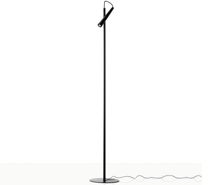 Foscarini Magneto vloerlamp-Zwart