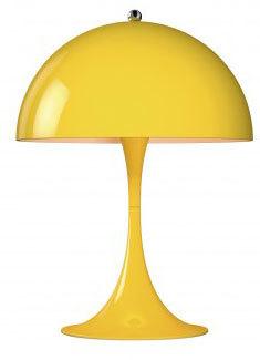 Louis Poulsen Panthella Mini Tafel tafellamp-Geel