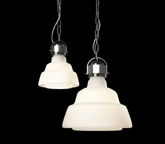 Diesel with Foscarini hanglamp Glas-Wit-Piccola