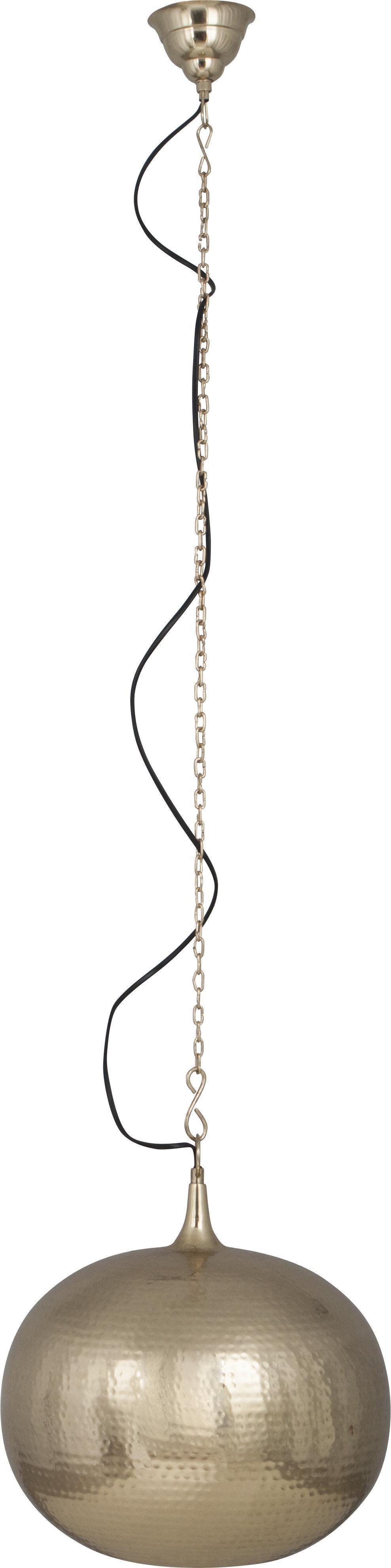 Zuiver Hammered Round hanglamp-Goud