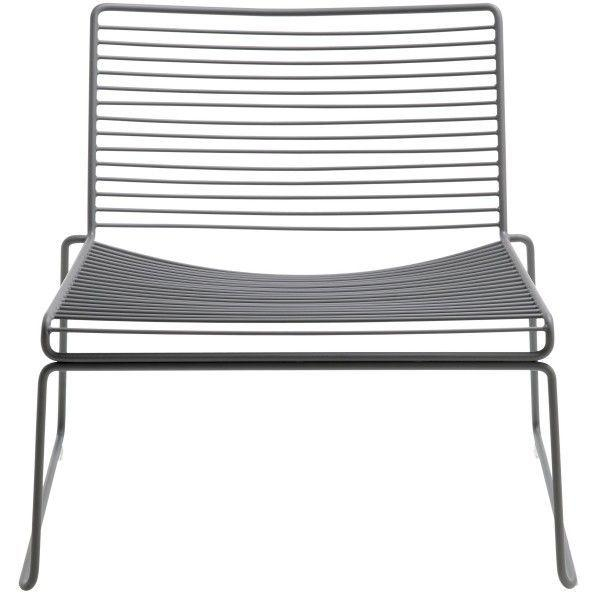 HAY HEE lounge chair stoel Grijs OUTLET