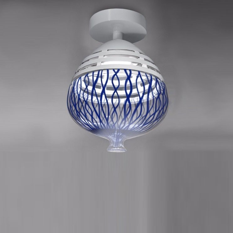 Artemide Invero 214 Ceiling plafondlamp-Blauw
