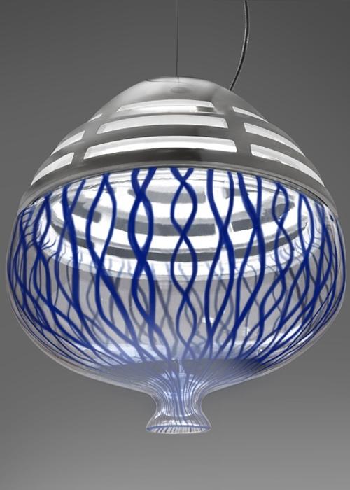 Artemide Invero Suspension hanglamp-Blauw