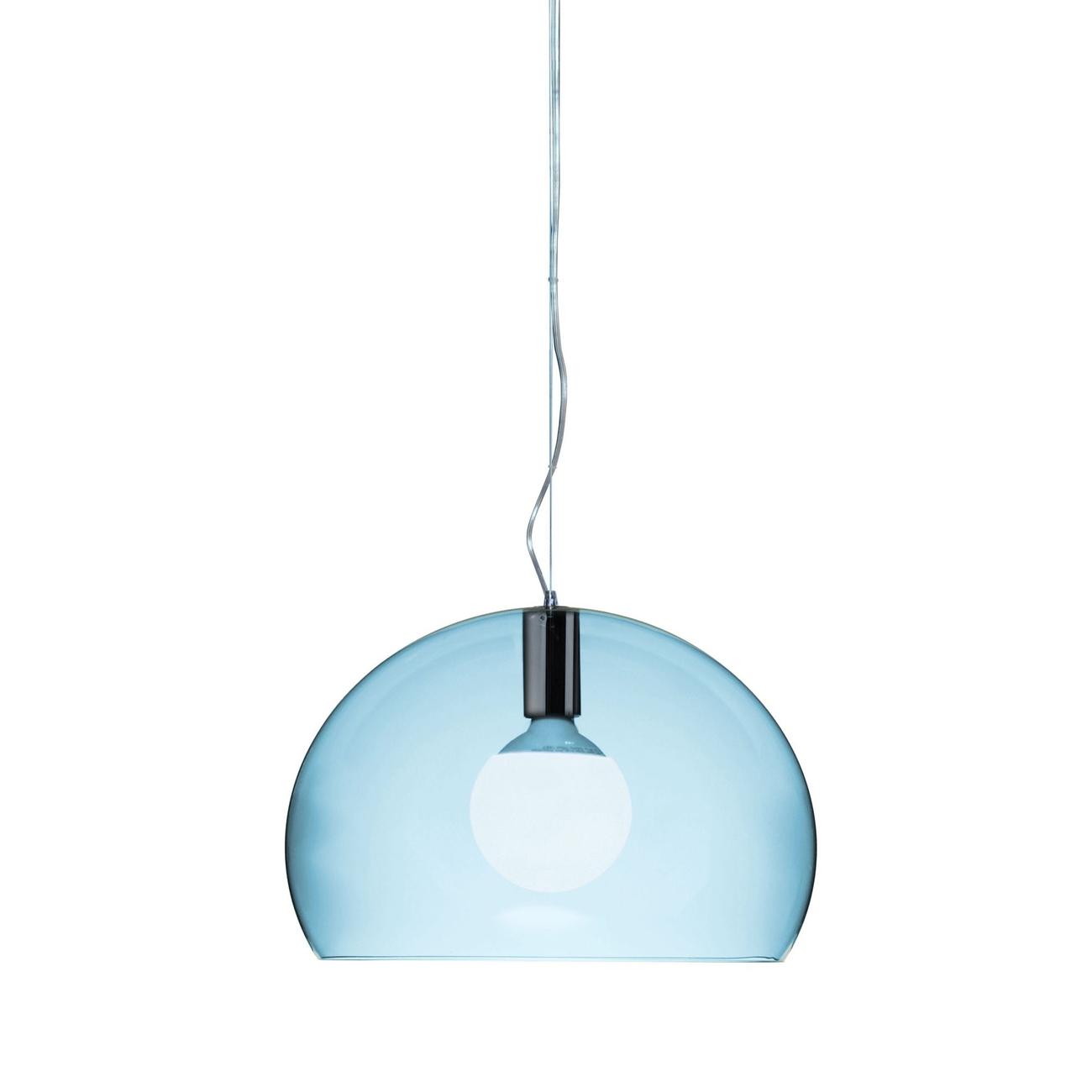 Kartell Small Fly hanglamp-Hemelsblauw