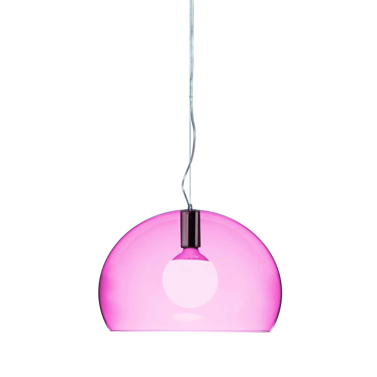 Kartell Small Fly hanglamp-Kardinaalrood