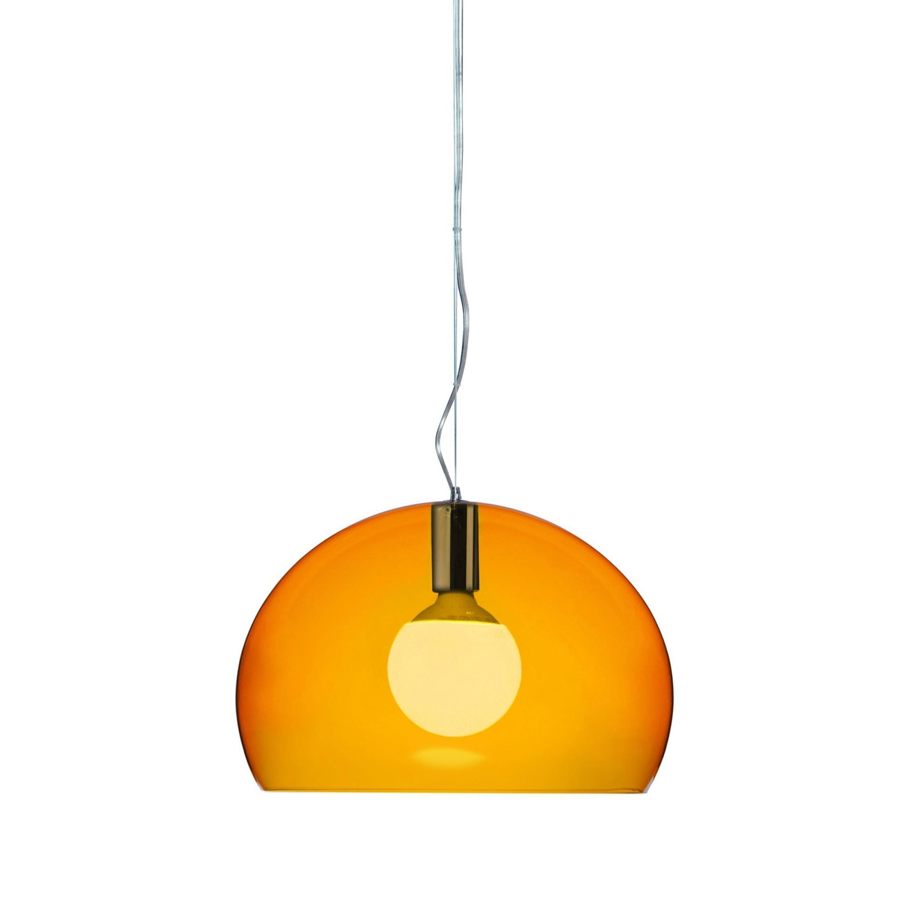 Kartell Small Fly hanglamp-Oranje