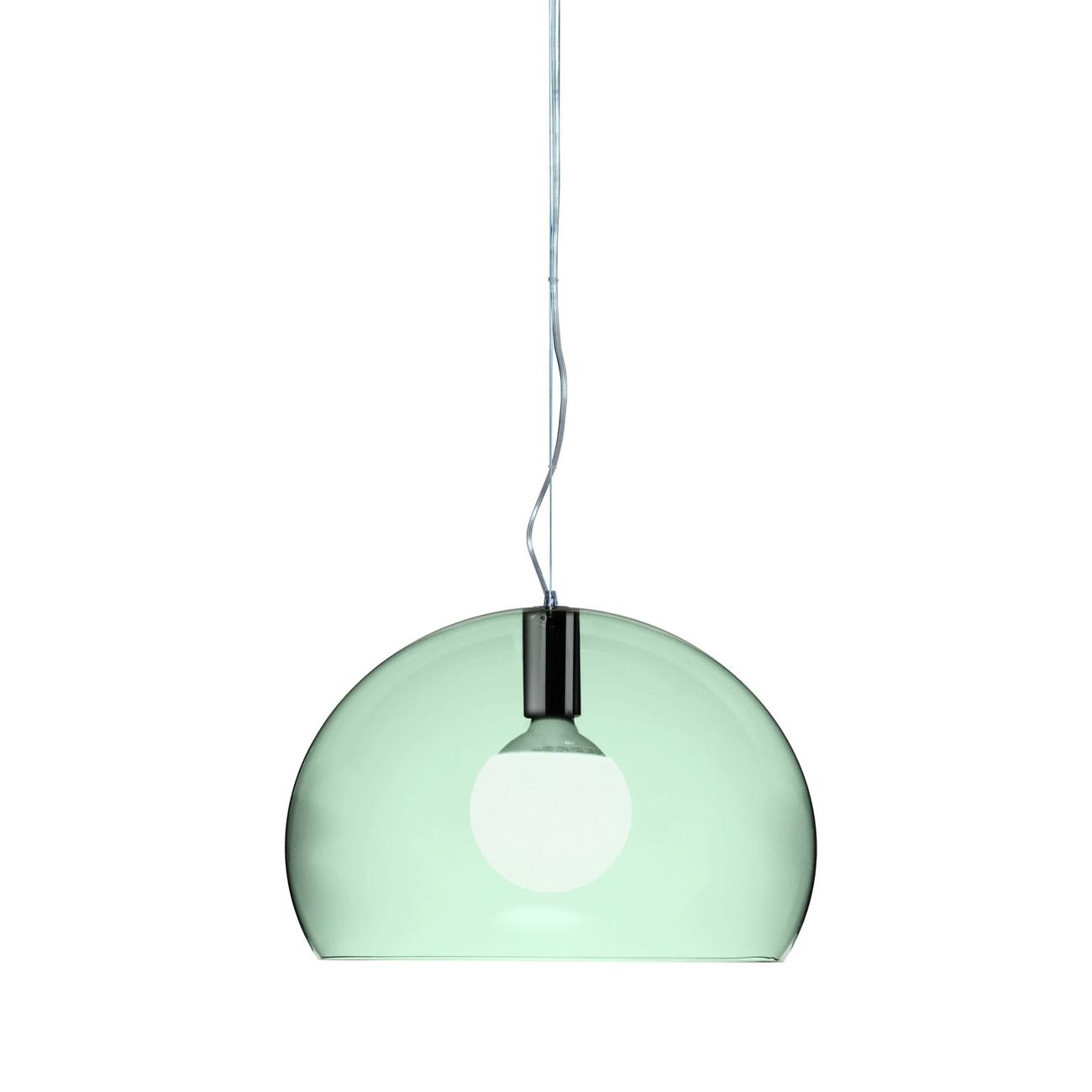 Kartell Small Fly hanglamp-Saligroen