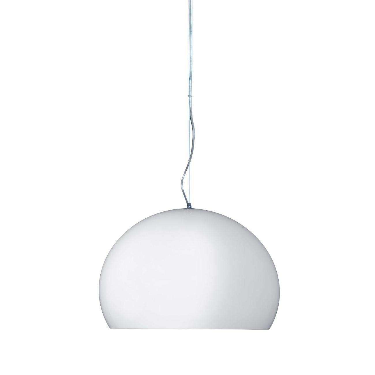 Kartell Small Fly LED hanglamp-Wit-glans