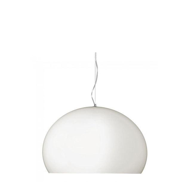 Kartell Small Fly LED hanglamp-Wit-mat