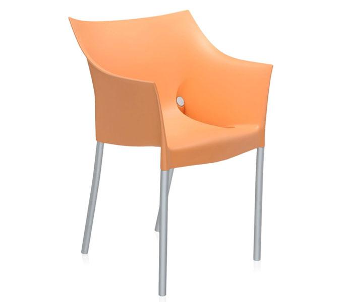 Kartell Dr NO stoel-Oranje