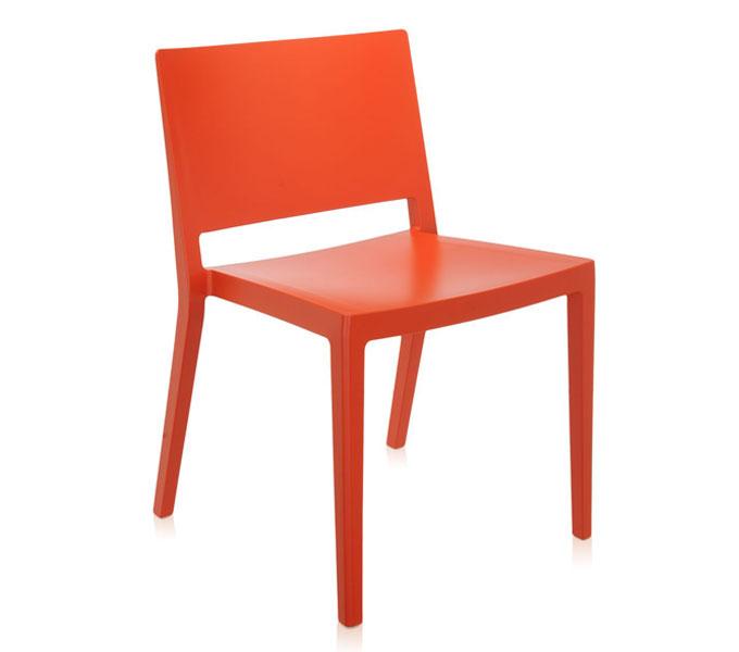 Kartell Lizz Mat eetkamerstoel-Oranje