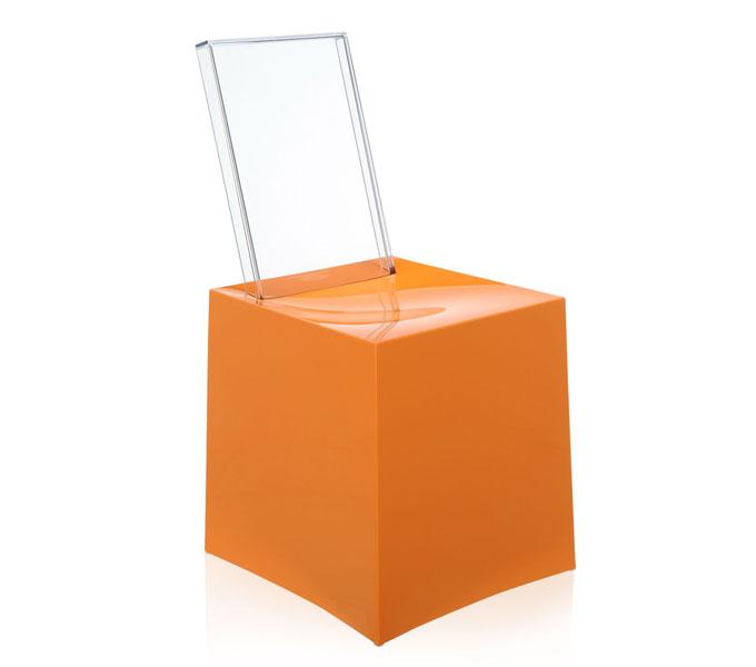 Kartell Miss Less eetkamerstoel-Oranje