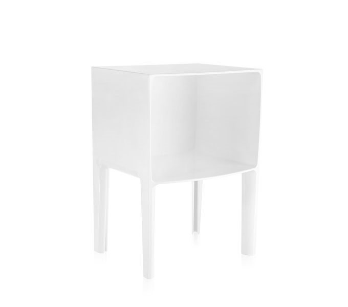 Kartell Small Ghost Buster kast-Wit