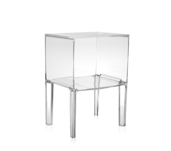 Kartell Small Ghost Buster kast-Kristal