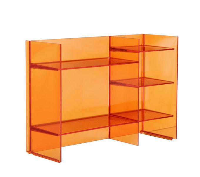 Kartell Sound-Rack kast-Oranje