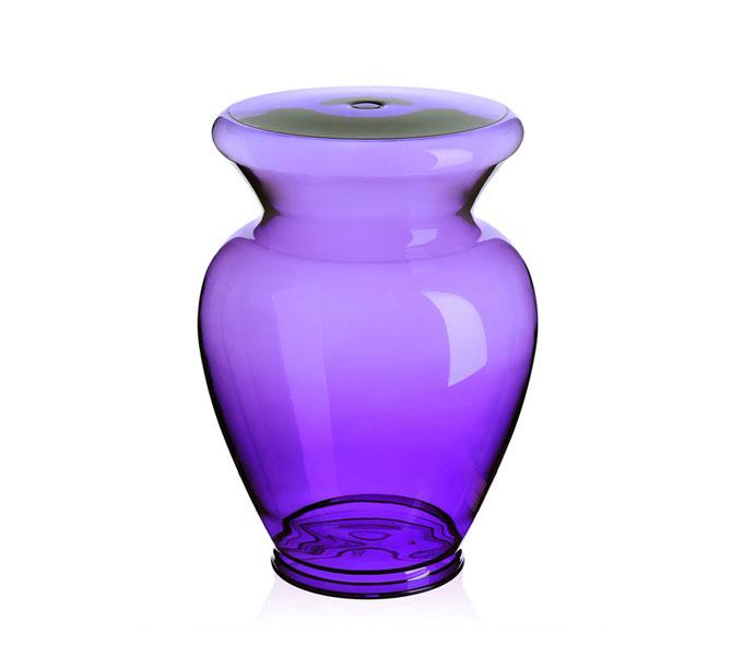 Kartell La Boheme krukje-Violet-� 34 cm