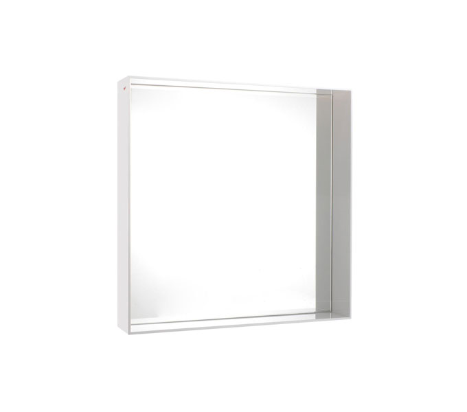 Kartell Only Me spiegel-Wit-50x50 cm