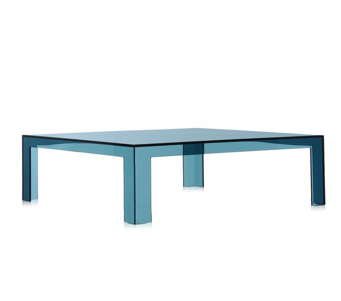 Kartell Invisible salontafel-Blauw