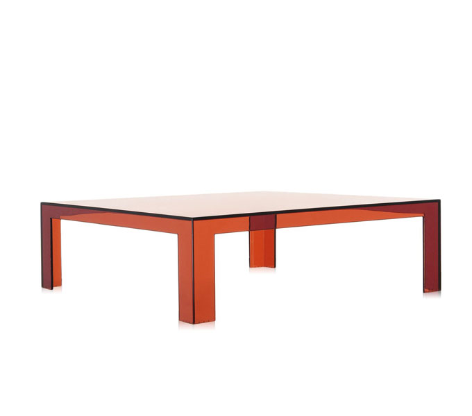 Kartell Invisible salontafel-Amber