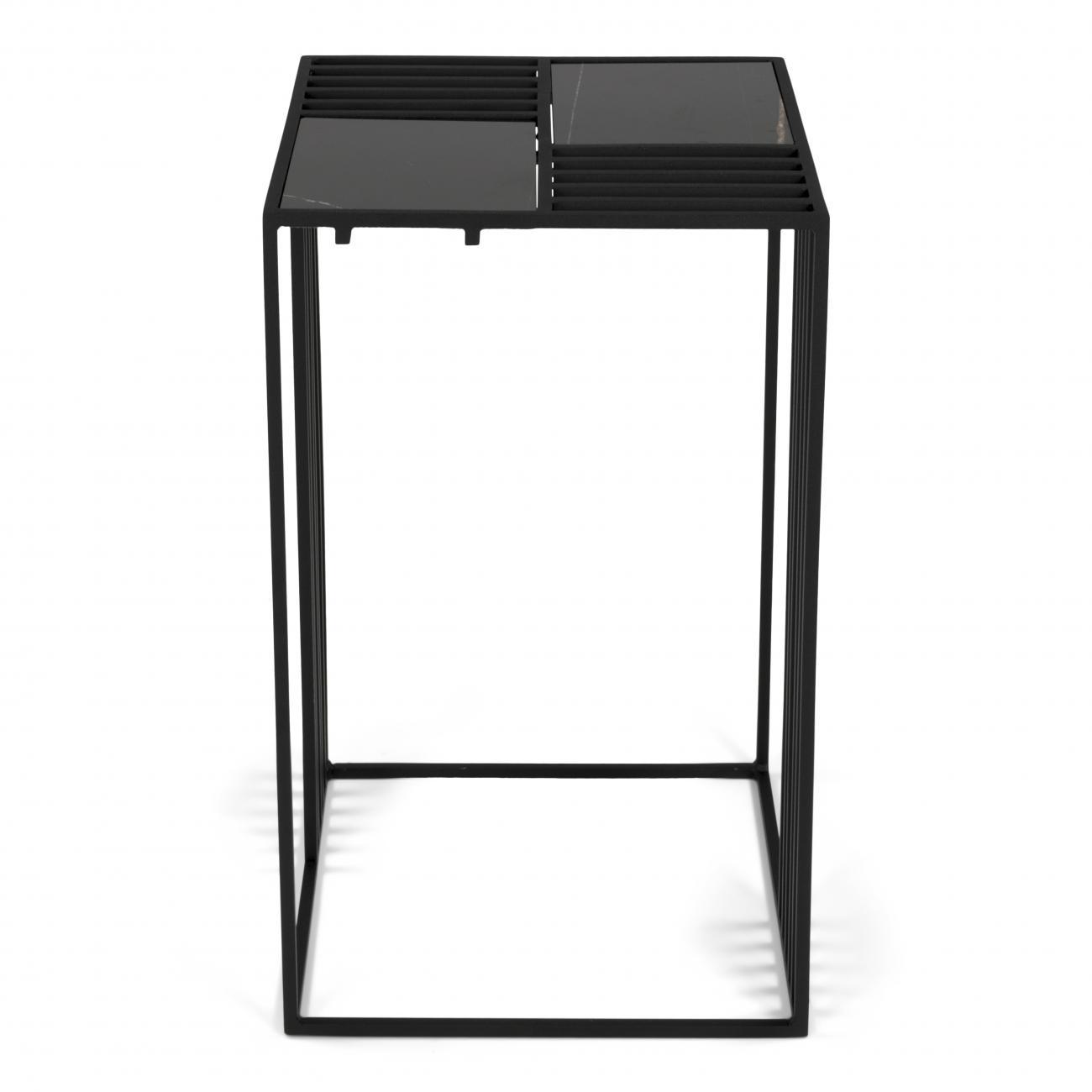 Torna Design Lattice 2 bijzettafel Zwart