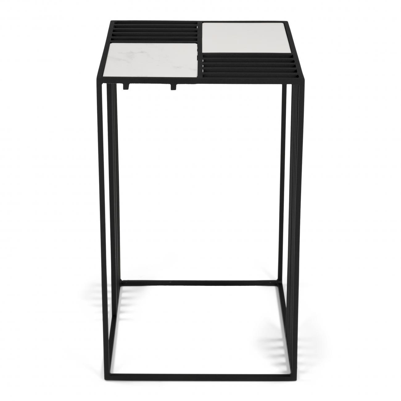 Torna Design Lattice 2 bijzettafel Wit
