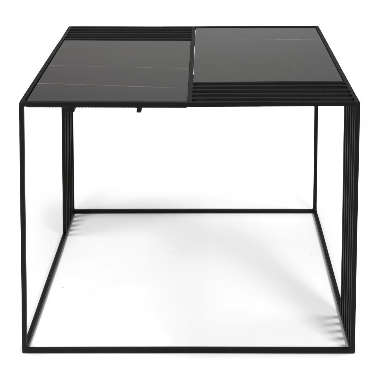 Torna Design Lattice 3 bijzettafel Zwart