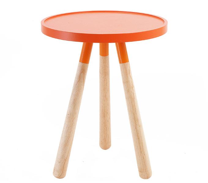 Leitmotiv Orbit bijzettafel-Oranje