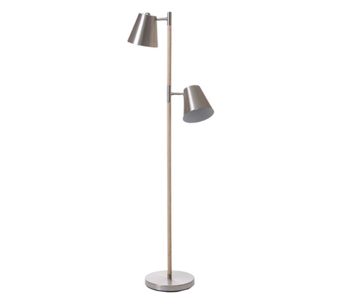 Leitmotiv Rubi vloerlamp-Rvs