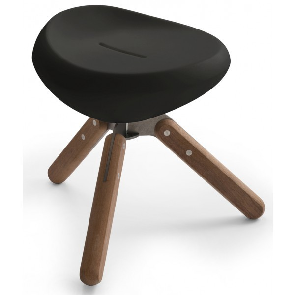 Lonc Beaser wood krukje-Zwart