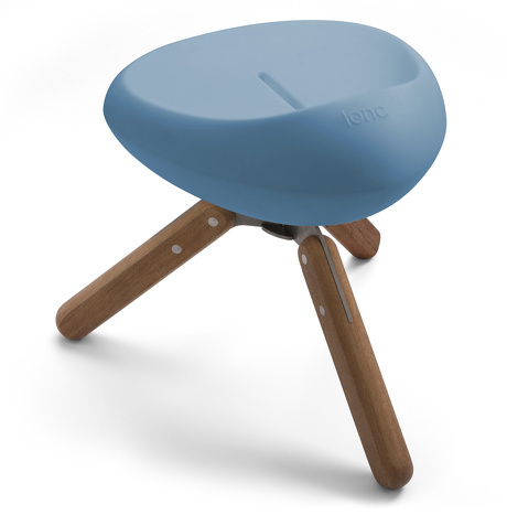 Lonc Beaser wood krukje-Blauw